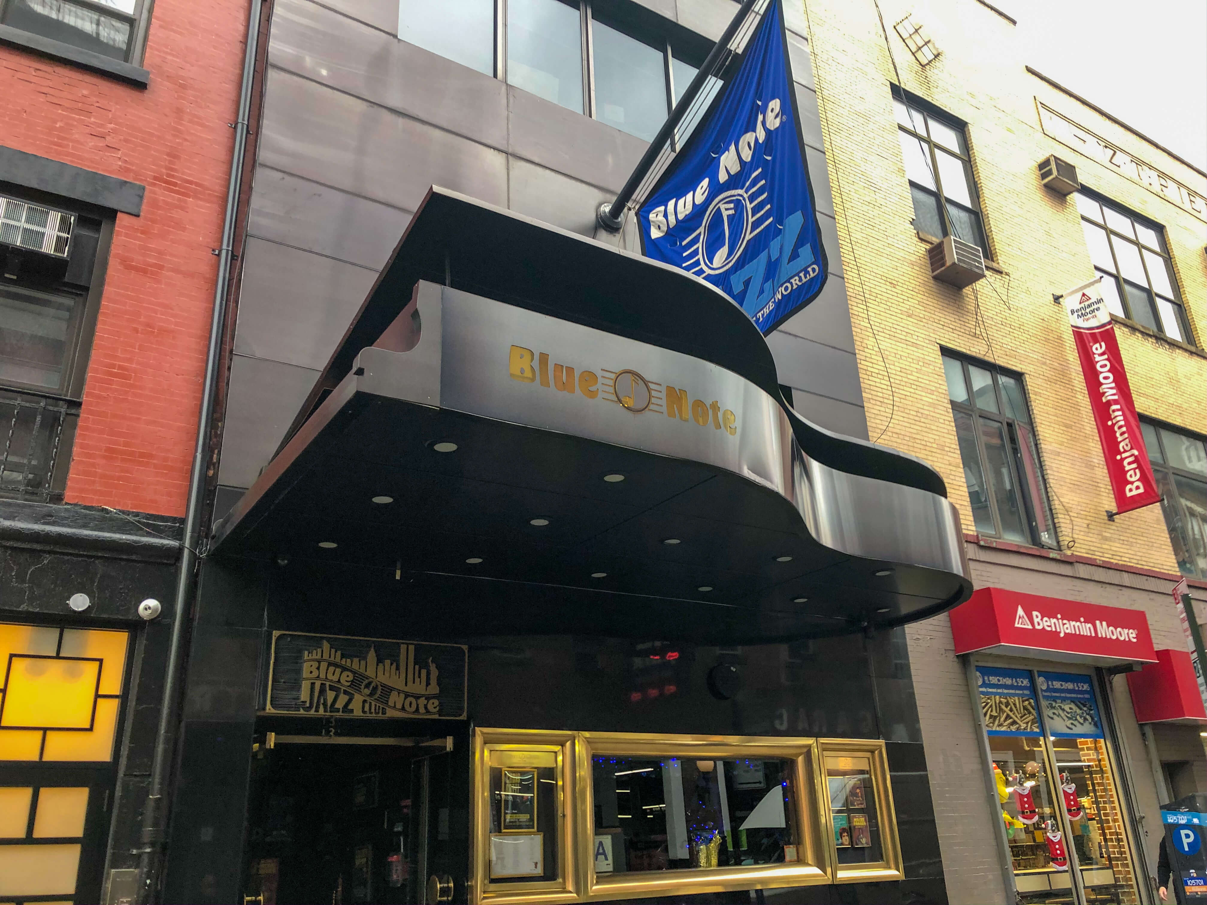 Jazz a New York, Blue Note
