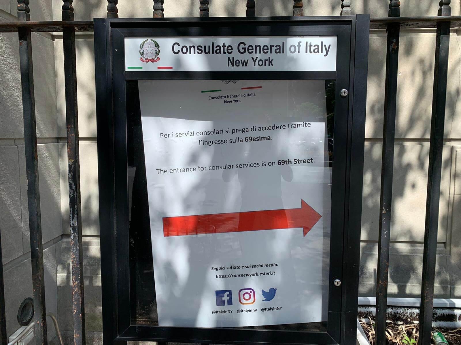 Consolato Italiano a New York