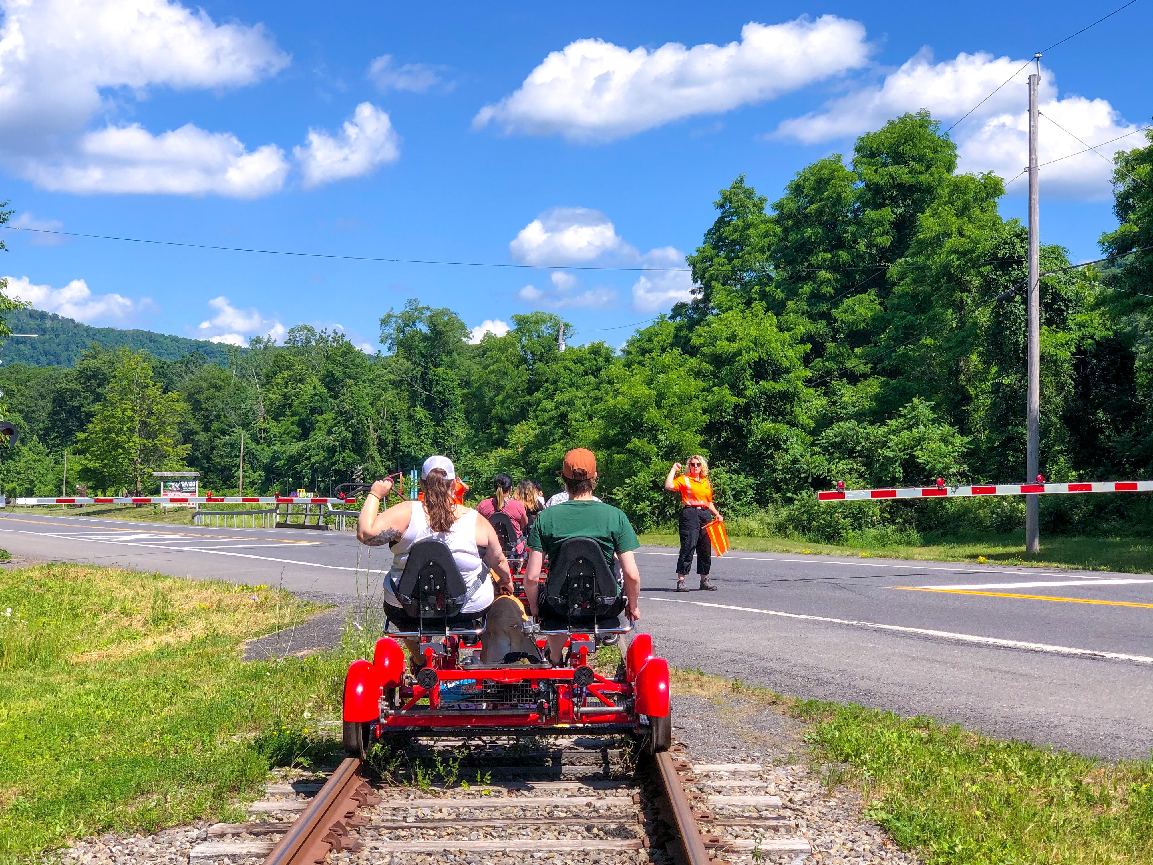 cosa visitare fuori New York Rail Explorers