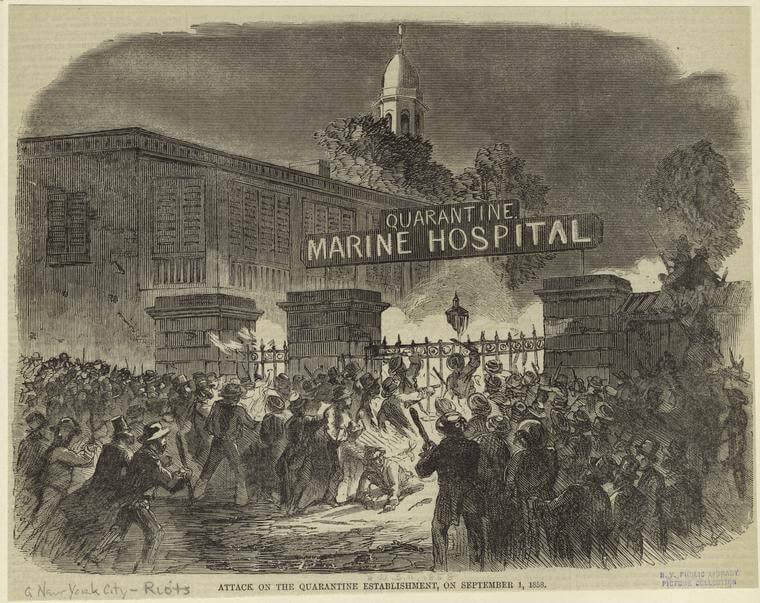Quarantine Marine Hospital