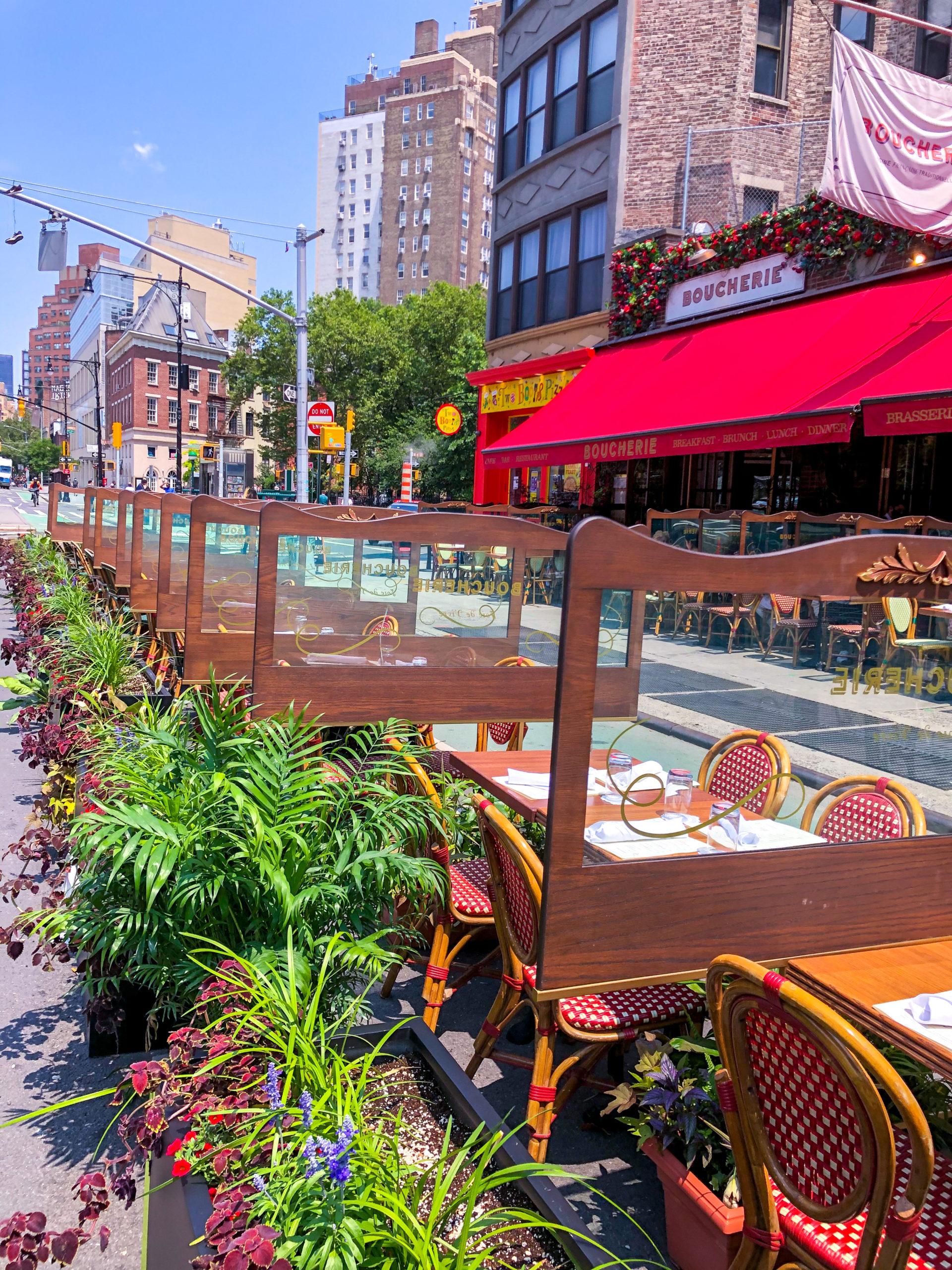 Riapertura dei ristoranti a New York