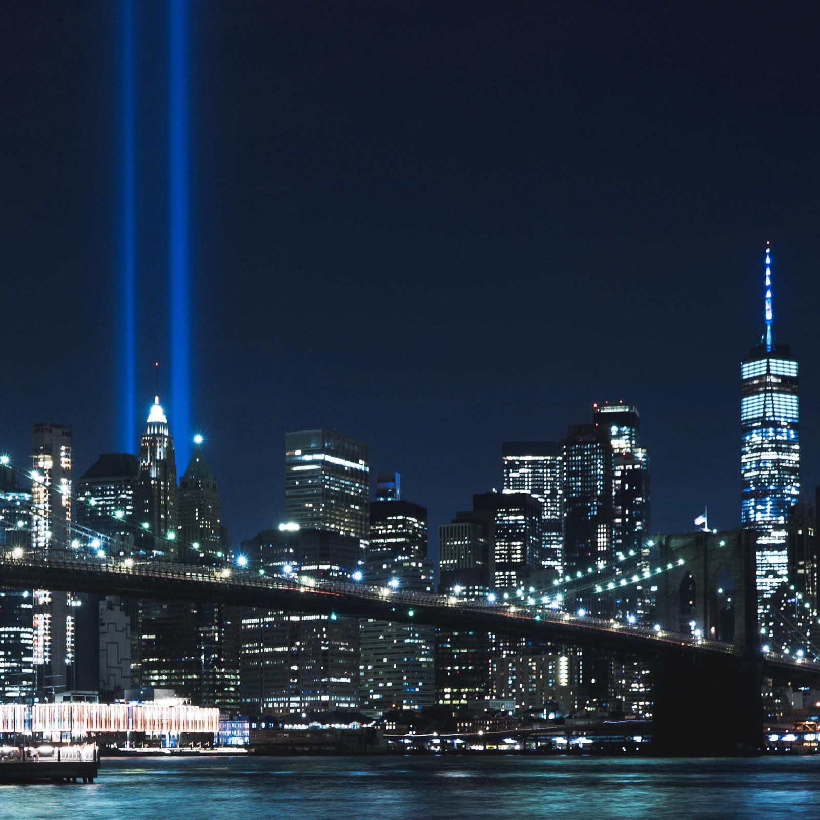 tributo luci 11 settembre