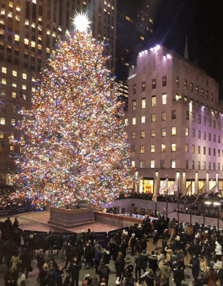 albero Natale a New York