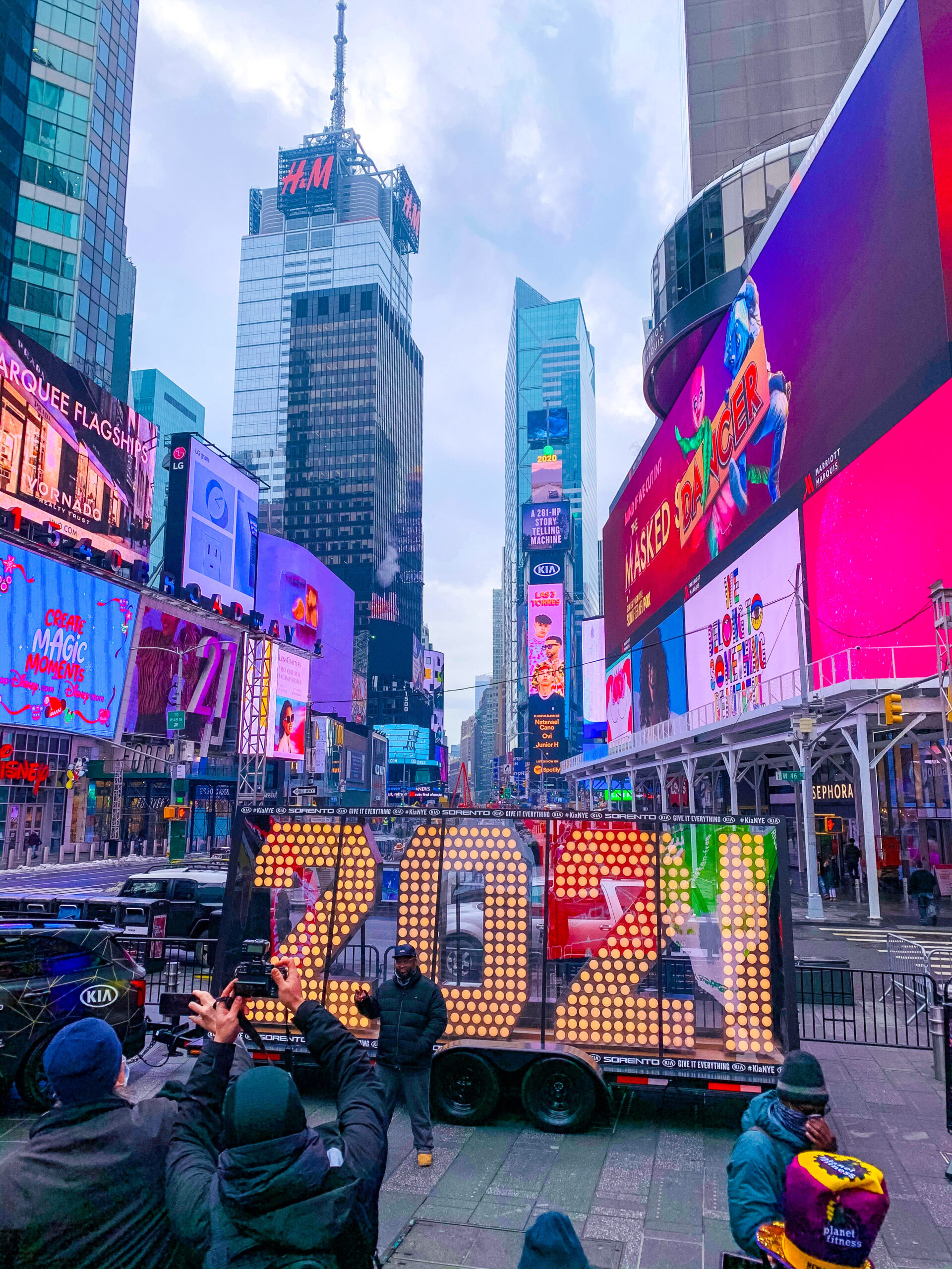 Natale a New York, 2021 numerals