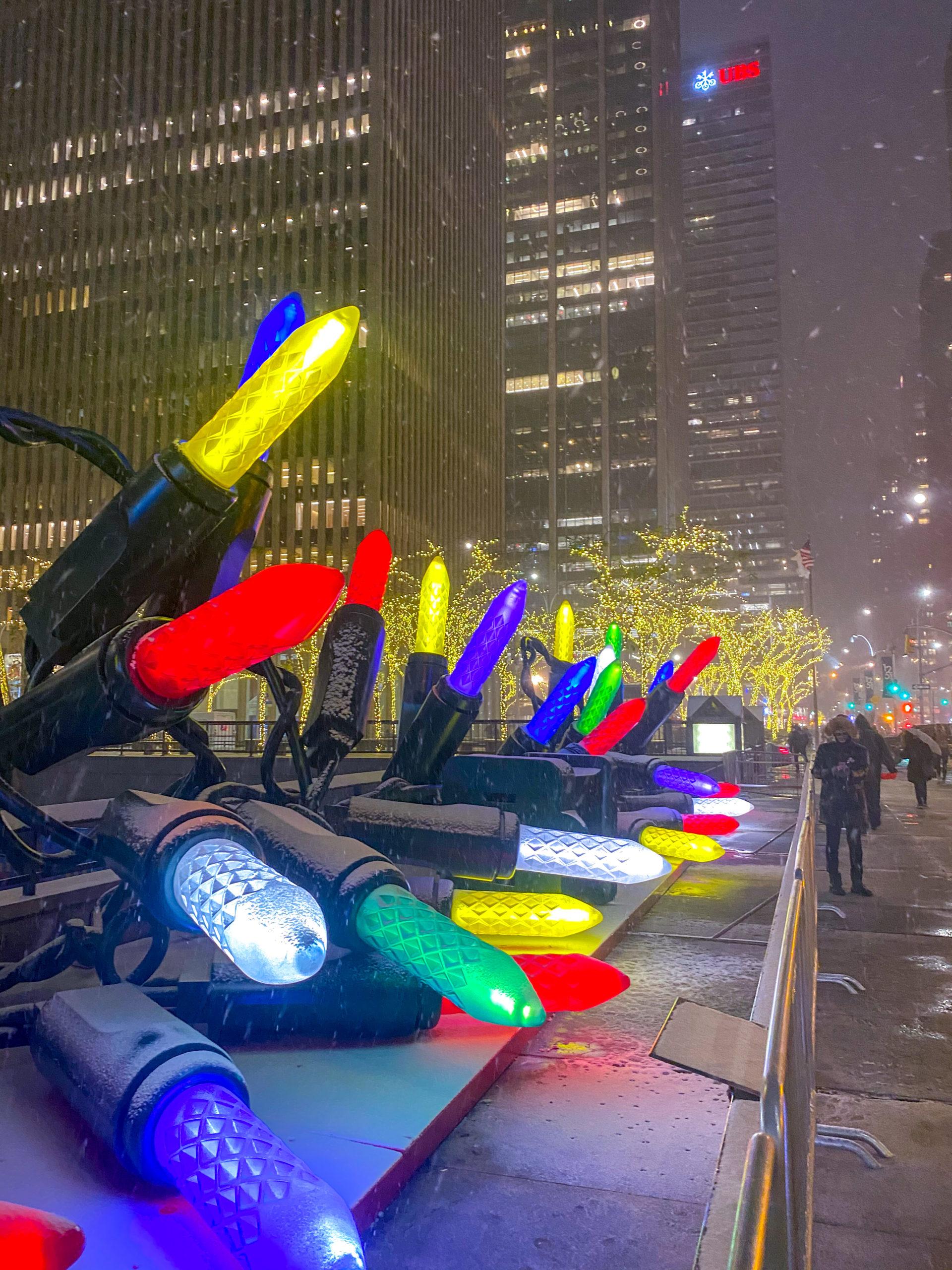 Natale a New York, 6th avenue