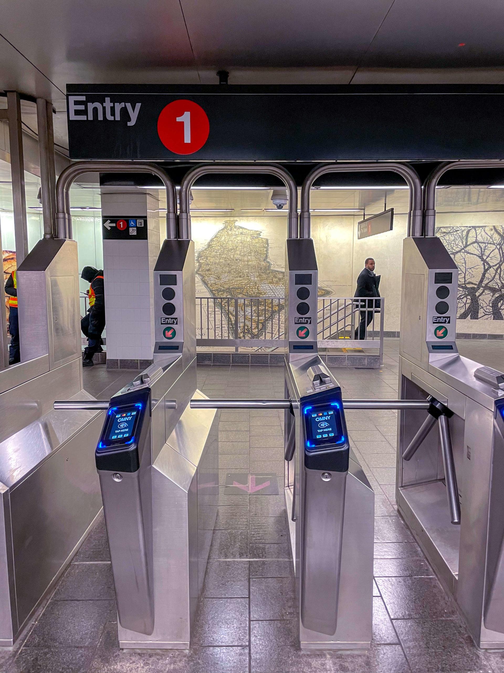 Aggiornamento metro a New York OMNY