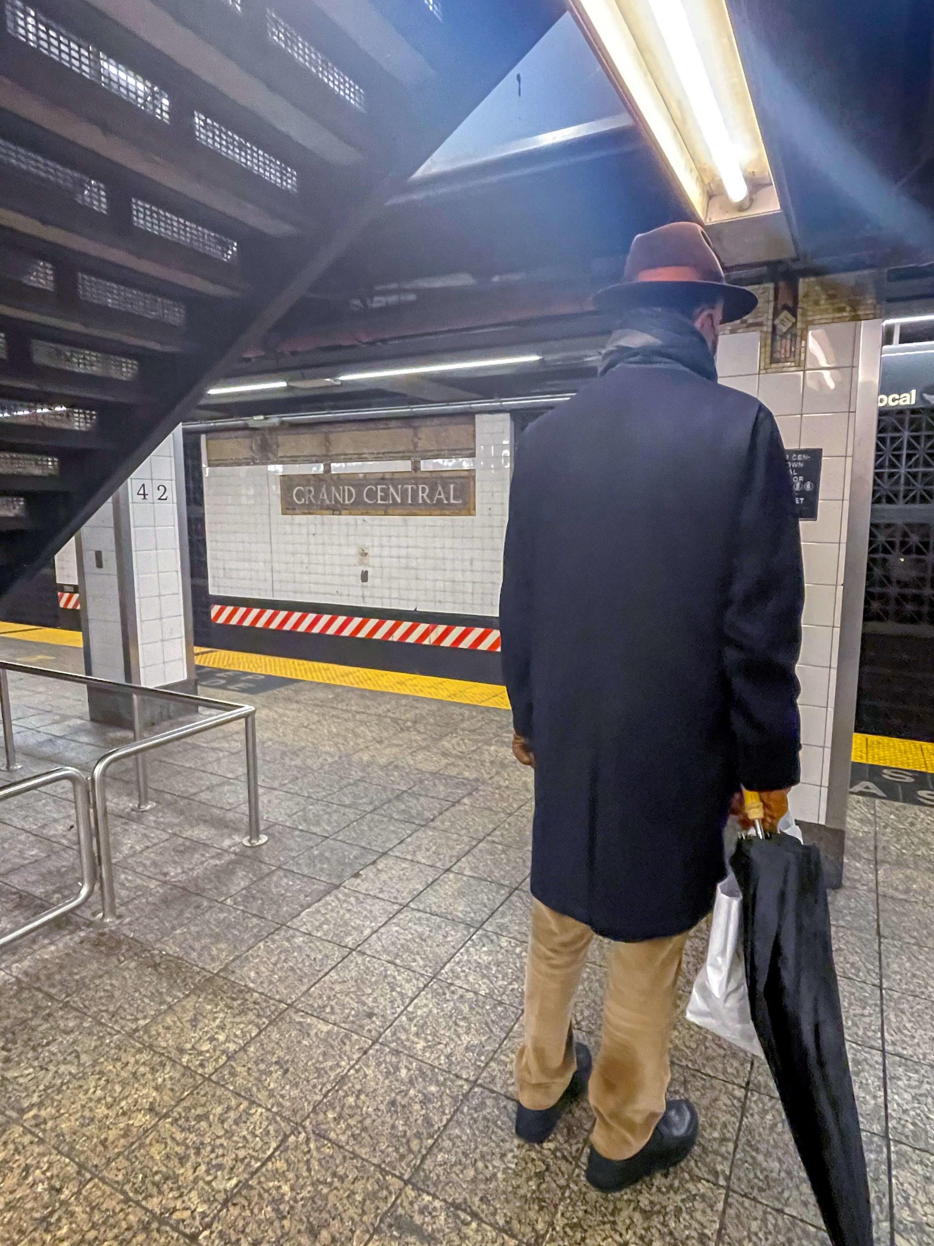 cartelli della metropolitana a New York