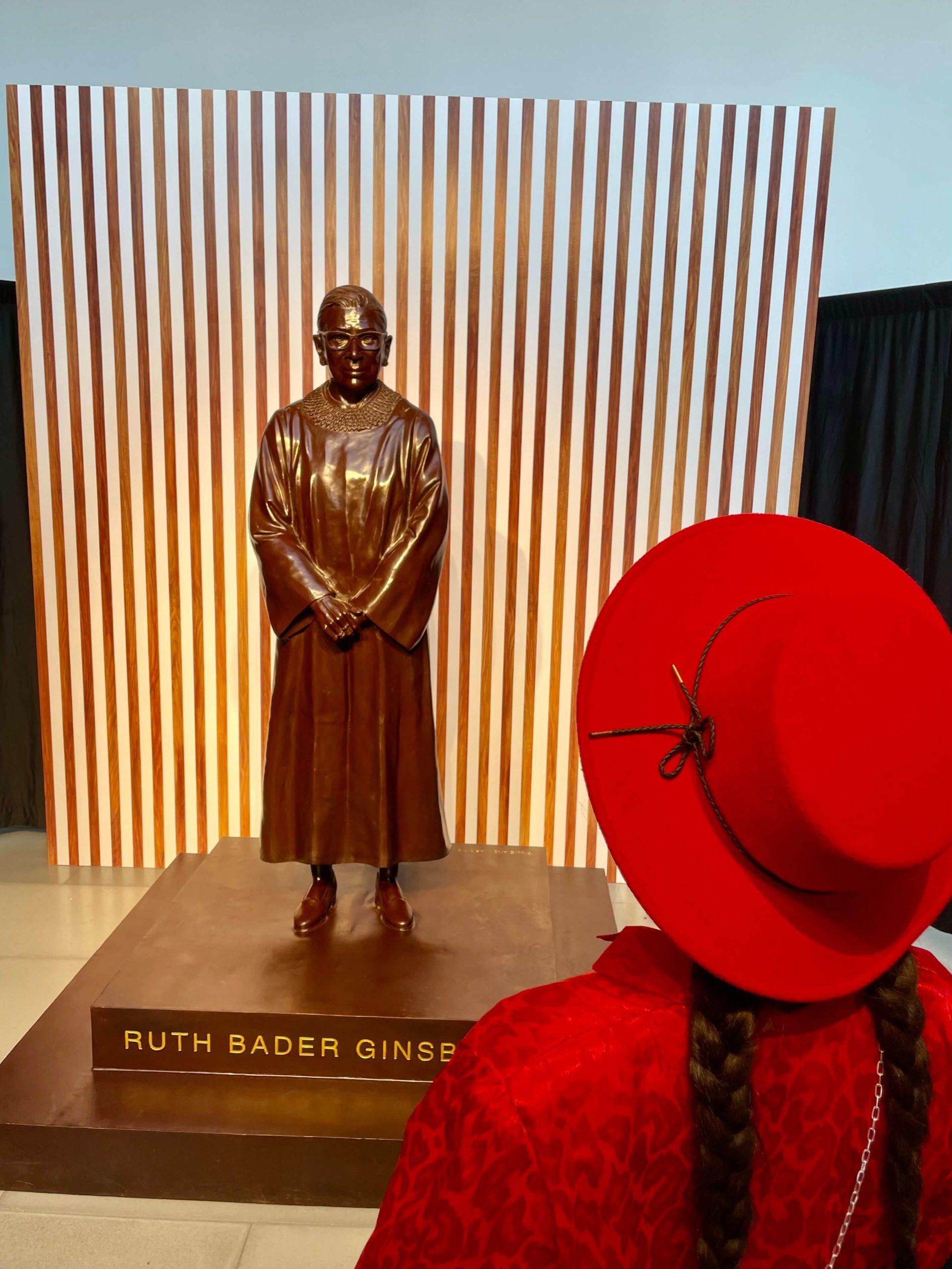 Riaperture a New York Ruth Bader Ginsburg
