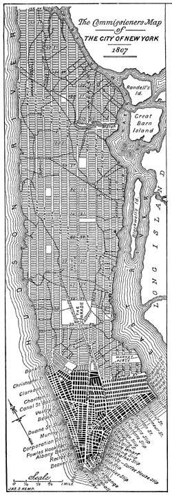 storia della griglia di New York