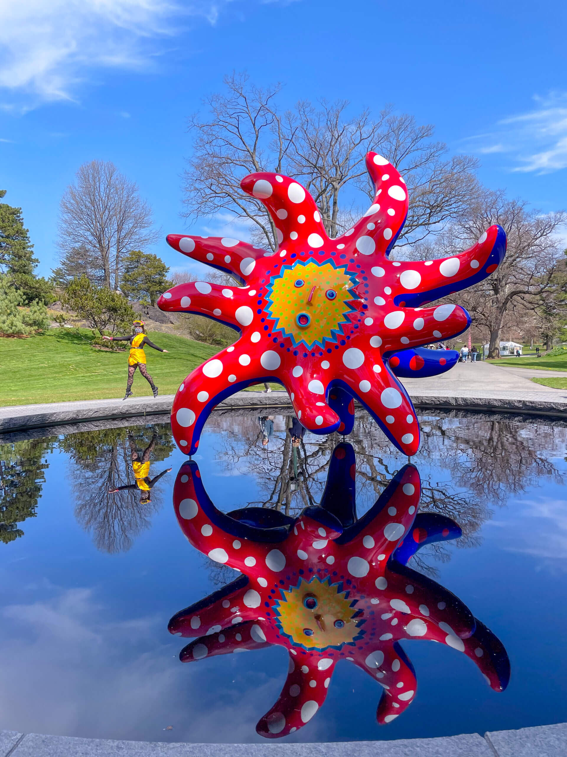 Cosa fare a New York Yayoi Kusama a New York I want to fly to the universe