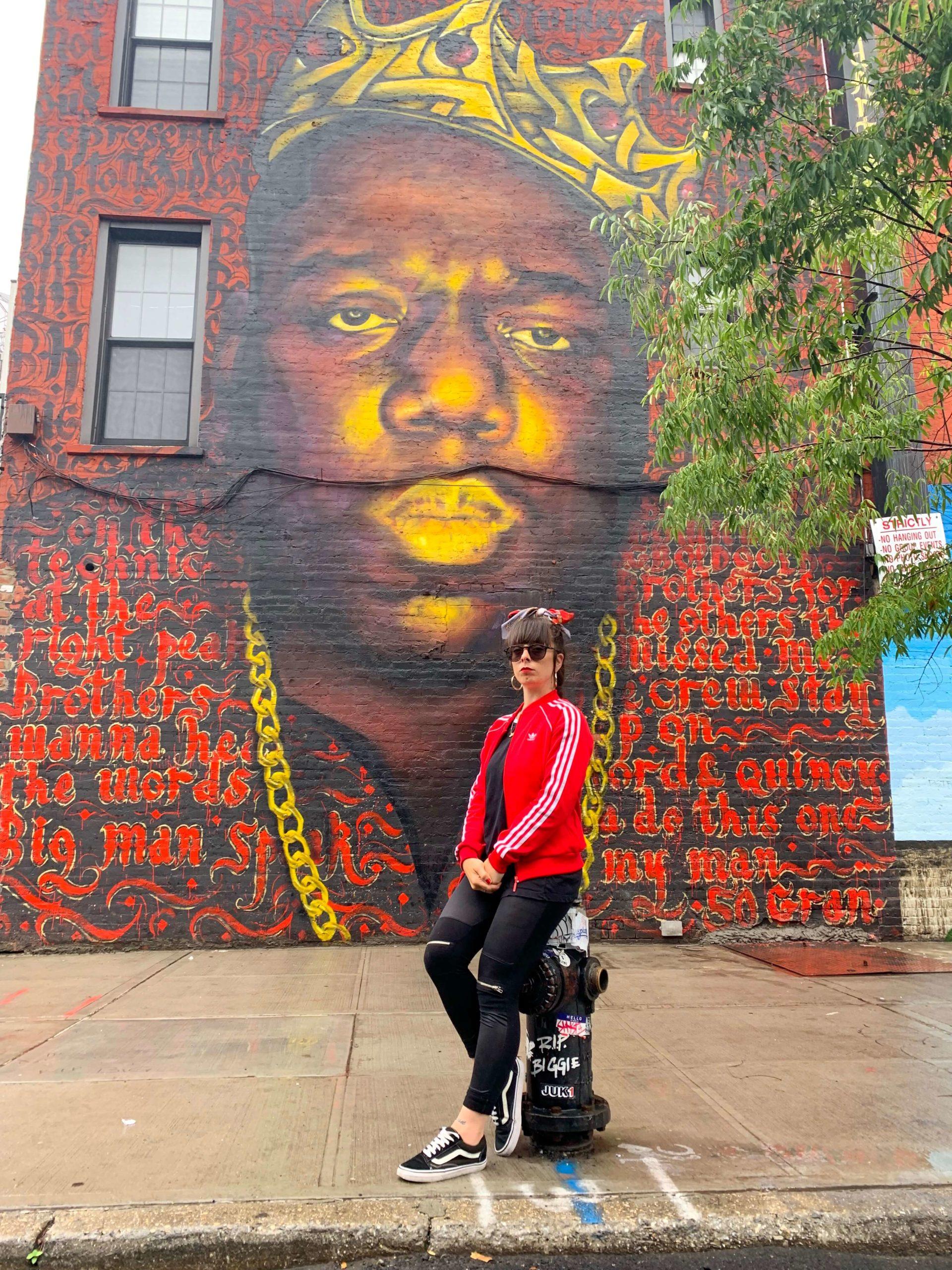 Notorius BIG Brooklyn Murales