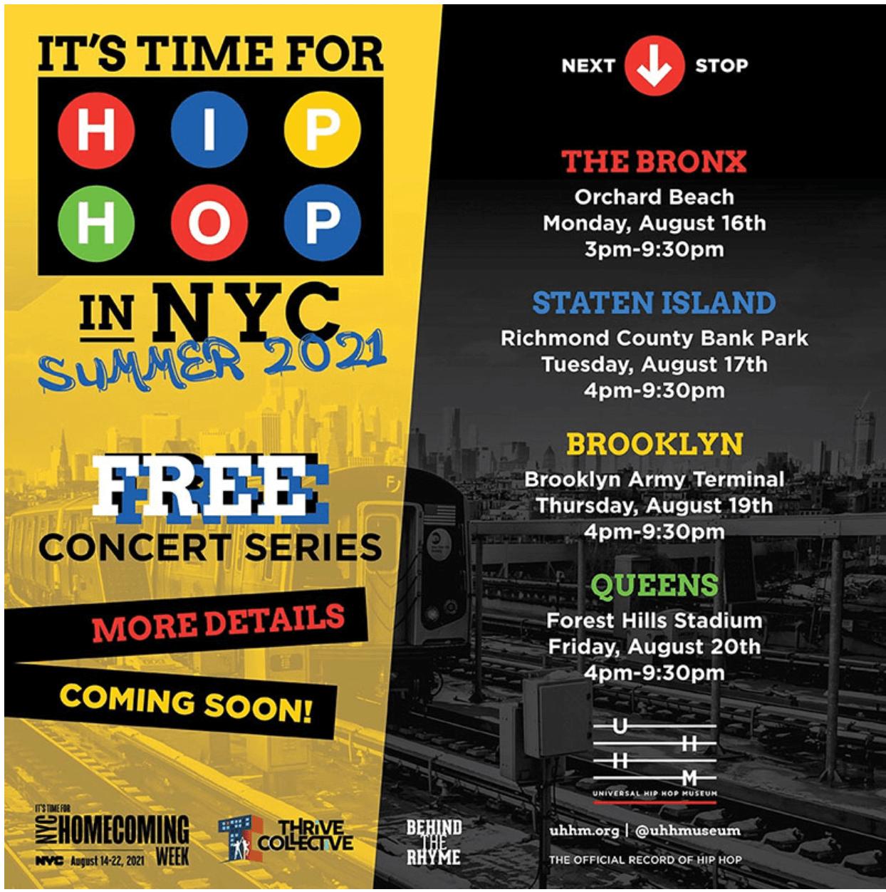 Concerti a New York in estate