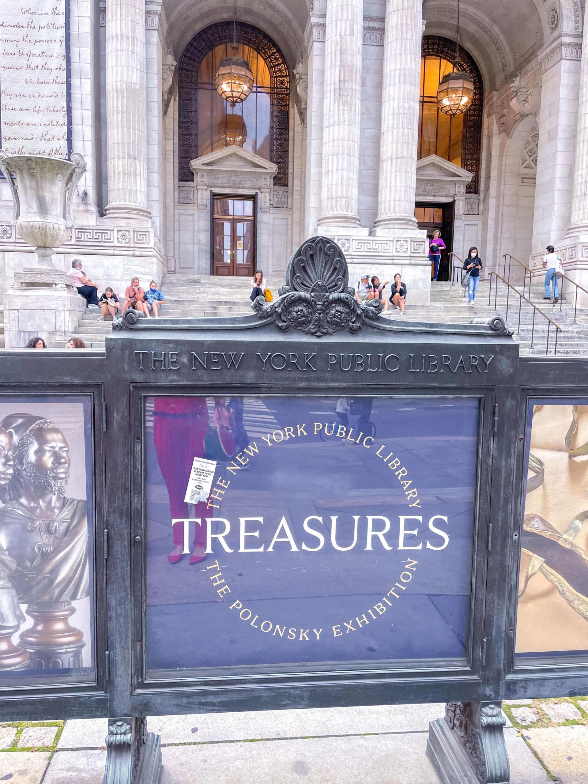 Visitare la New York Public Library, treasures